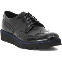 Shoes Men Derby Shoes Progetto ALLACCIATA ABRASIVATO NERO Multicolore