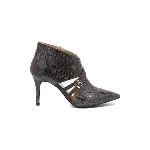 Shoes Women Shoe boots Café Noir CAFèNOIR  PITONATO PINTA  GRIGIO     87,1