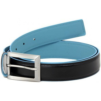 Clothes accessories Men Belts Piquadro CINTURA NERA PROF. AZZURRO Multicolore
