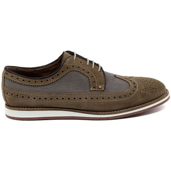 Shoes Men Derby Shoes Soldini VELOUR SABBIA     96,3