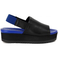 Shoes Women Sandals Palomitas EQUITARE  NAPALUX NERO BLU    104,1