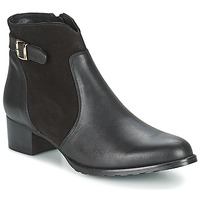 Shoes Women Ankle boots So Size SERELLE Black