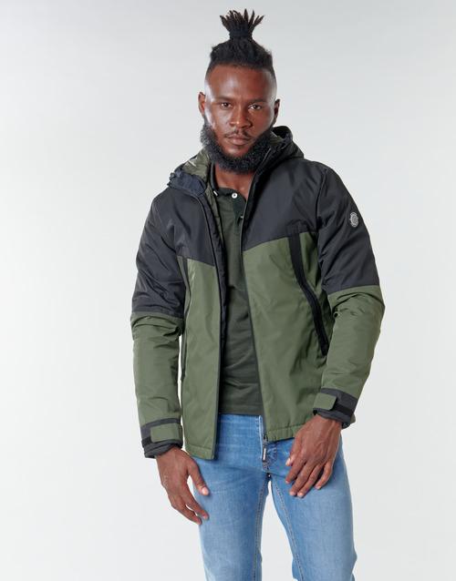 Clothing Men Jackets Jack & Jones JCOBEATLE Kaki / Marine