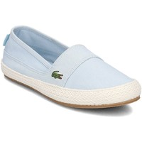 Shoes Women Espadrilles Lacoste Marice Light blue