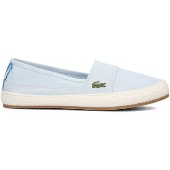 Shoes Women Espadrilles Lacoste Marice Light blue