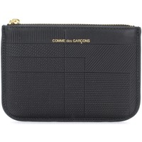 Bags Wallets Comme Des Garcons Bustina  Intersection in pelle nera Black