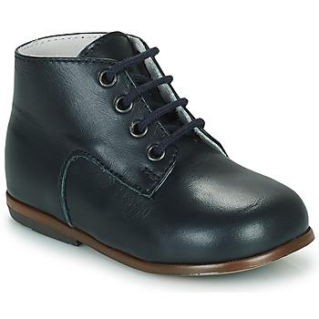 Shoes Children Hi top trainers Little Mary MILOTO Blue