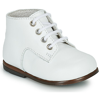 Shoes Children Hi top trainers Little Mary MILOTO White