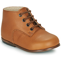 Shoes Children Hi top trainers Little Mary MILOTO Brown