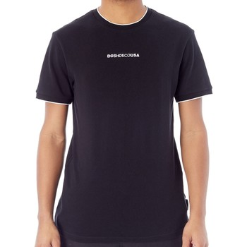 Clothing Men Short-sleeved t-shirts DC Shoes Black Lakebay T-Shirt Black