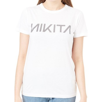 Clothing Women Short-sleeved t-shirts Nikita White Dusk Quartz Womens T-Shirt White