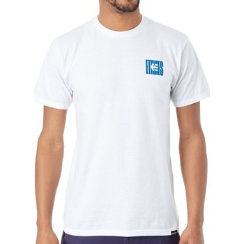 Clothing Men Short-sleeved t-shirts Etnies White Dropout T-Shirt White