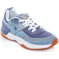 Shoes Women Low top trainers DC Shoes Denim E.Tribeka TX SE Womens Low Top Shoe Blue