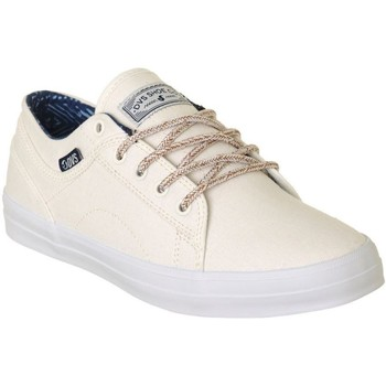 Shoes Women Low top trainers DVS Natural Canvas Aversa Womens Low Top Shoe White