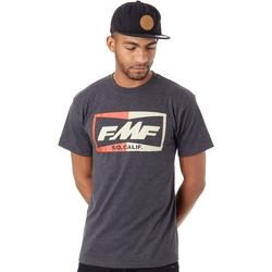 Clothing Men Short-sleeved t-shirts Fmf Racing Black Heather Tops T-Shirt Black