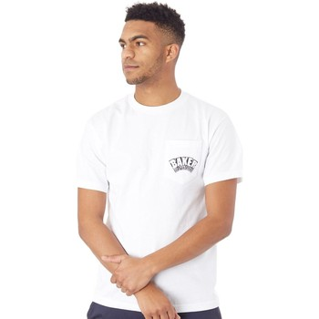 Clothing Men Short-sleeved t-shirts Baker White Arch Logo Pocket T-Shirt White
