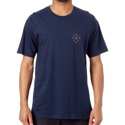 Clothing Men Short-sleeved t-shirts Seven Mx Navy Benchmark T-Shirt Black