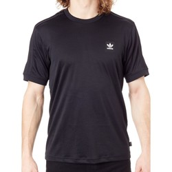 Clothing Men Short-sleeved t-shirts adidas Originals Black Club Jersey T-Shirt Black