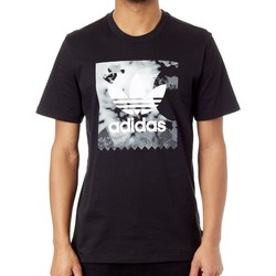 Clothing Men Short-sleeved t-shirts adidas Originals Black Gonz T-Shirt Black