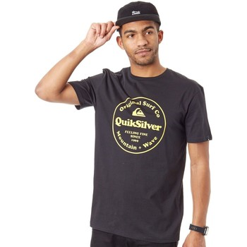 Clothing Men Short-sleeved t-shirts Quiksilver Black Secret Ingredient T-Shirt Black