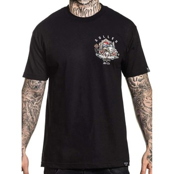 Clothing Men Short-sleeved t-shirts Sullen Black Aaron Hodges Artist Series - Mermaid X T-Shirt Black