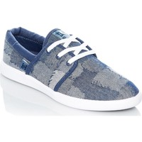Shoes Women Low top trainers DC Shoes Blue-Blue-White Haven TX LE Womens Low Top Shoe Blue