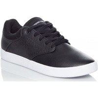 Shoes Men Low top trainers DC Shoes Black-White Visalia Shoe Black