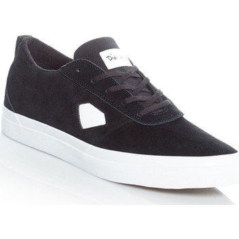 Shoes Men Low top trainers Diamond Supply Co. Black-White Icon Shoe Black