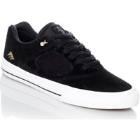 Shoes Men Low top trainers Emerica Black-White-Gold Reynolds 3 G6 Vulc Shoe Black