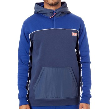 Clothing Men Fleeces DC Shoes Sodalite Blue Clewiston Hoody White