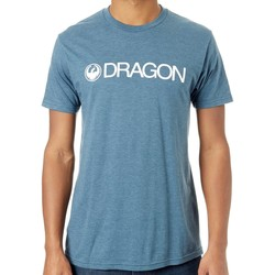 Clothing Men Short-sleeved t-shirts Dragon Navy Heather Trademark T-Shirt Black