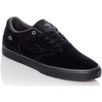 Shoes Men Low top trainers Emerica Black-Black-Grey The Reynolds Low Vulc Shoe Black