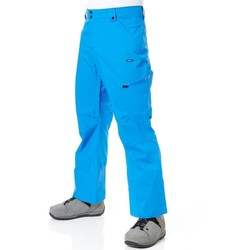 Clothing Men Cargo trousers Oakley Snow Shell 10K 2 Layer Snowboarding Pants Blue