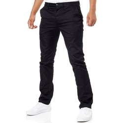 Clothing Men Chinos DC Shoes Black Worker Straight Pant Black