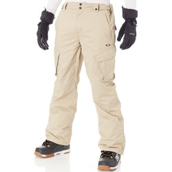 Clothing Men Cargo trousers Oakley Rye Arrowhead 10K Snowboarding Pants Beige