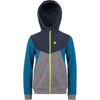 Clothing Boy Fleeces Protest Intense Blue Mavis Kids Snowboarding Zip Hoody Blue