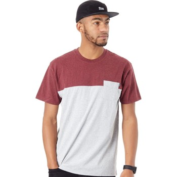 Clothing Men Short-sleeved t-shirts Etnies Grey-Heather Lewis Pocket T-Shirt Grey