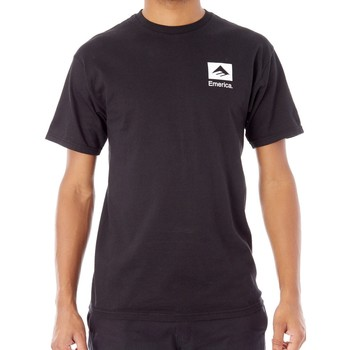 Clothing Men Short-sleeved t-shirts Emerica Black Brand Combo T-Shirt Black