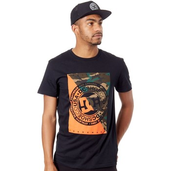 Clothing Men Short-sleeved t-shirts DC Shoes Black Warfare T-Shirt Black
