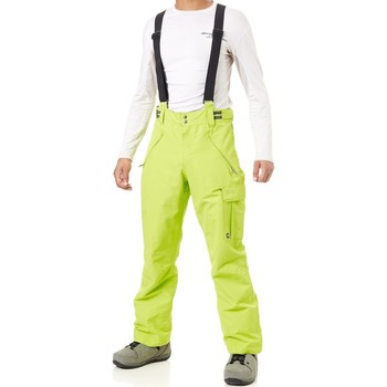 Clothing Men Cargo trousers Protest Lime Green Denysy Snowboarding Pants Green