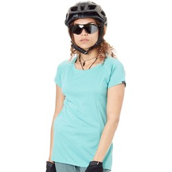 Clothing Women Short-sleeved t-shirts Dakine Lagoon 19W Faye Womens Short Sleeved MTB Jersey Blue