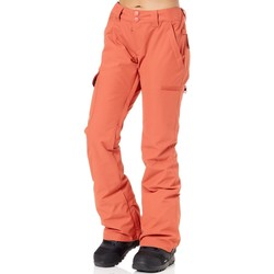 Clothing Women Cargo trousers DC Shoes Hot Sauce Recruit Womens Snowboarding Pants Red