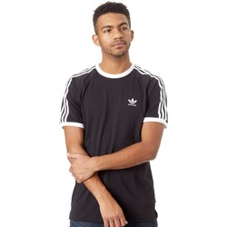 Clothing Men Short-sleeved t-shirts adidas Originals Black-White California 2.0 T-Shirt Black