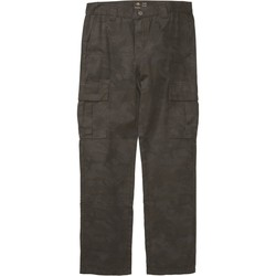 Clothing Men Cargo trousers Emerica Black-Camo Surplus Cargo Pant Black