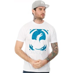 Clothing Men Short-sleeved t-shirts Dragon White Stone T-Shirt White
