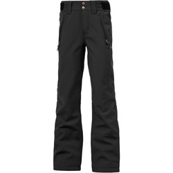 Clothing Girl Trousers Protest True Black Lole Girls Snowboarding Pants Black