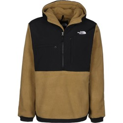 Clothing Men Fleeces The North Face British Khaki Denali Anorak 2 Hoody Brown