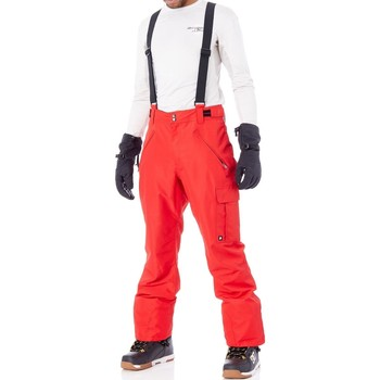 Clothing Men Trousers Protest Red Burn FA17 Denysy Snowboarding Pants Red
