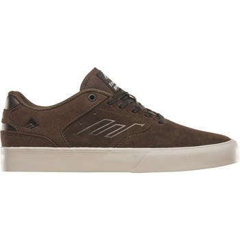 Shoes Men Low top trainers Emerica Brown The Reynolds Low Vulc Shoe Brown