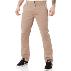Clothing Men Trousers Etnies Khaki FA18 Essential Straight Chino Pant Brown